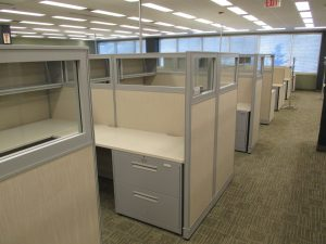 Haworth Places Series 8' x 8' workstations