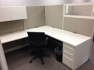 8' x 8' Used Haworth Places Series office furniture