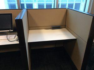 Used Haworth Premise N-series 6' x 6' workstations