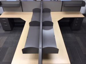 AIS modular workstation shelves