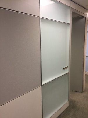 Calgary used Teknion Altos modular wall systems