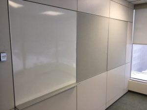Used Teknion Altos modular wall system in Calgary