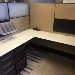 Used Haworth Premise Series 6' x 6' office desks