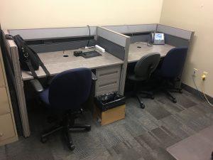 "Global Boulevard Evolve 48"" x 30"" used office furniture"