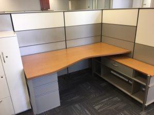 Used Herman Miller Canvas Series office furniture