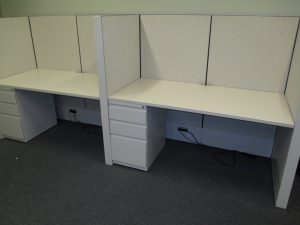 Haworth Compose Series workstations