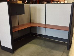 Used Office Furniture in Calgary Lacasse 6' x 7' workstations