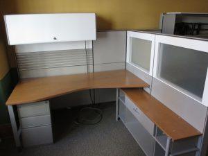 Used Herman Miller Canvas Series workstations in Calgary