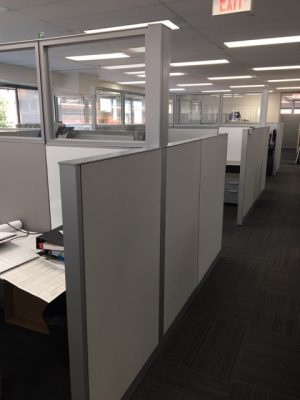 Steelcase Answer Series 6' x 7.5' used office furniture in Calgary