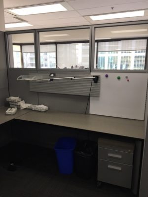 Used Steelcase Answer Series 6' x 7.5' office furniture in Calgary