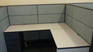 Global Boulevard Evolve 6' x 6' used office furniture