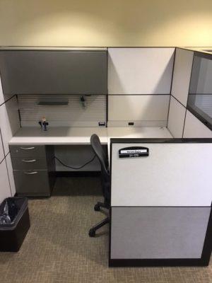 Steelcase Montage Series 6' x 7' workstations