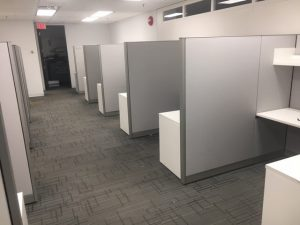 Steelcase Answer Series used workstations