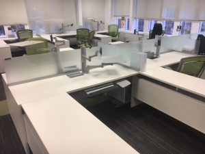 Teknion Expansion Series used office desk in Calgary