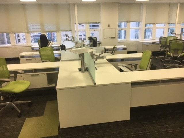 Leviton Enters Residential Load Center Market: Teknion Expansion 6' X 6.5' Desk System