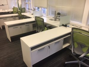 Teknion Expansion 6' x 6.5' office desk system