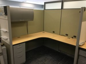 Allsteel Optimize 6' X 6' L-Shape Workstation