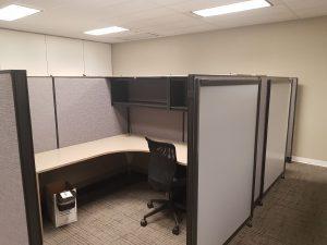 AIS E & H 6' X 8.5' L- Shape Modular Private Suites