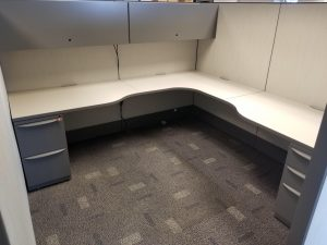 Haworth Premise 8' X 8' L - Shape Workstation