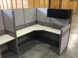 Global Boulevard 6' X 6' L- Shape Workstation