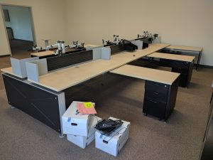 Teknion Marketplace Trader Workstations