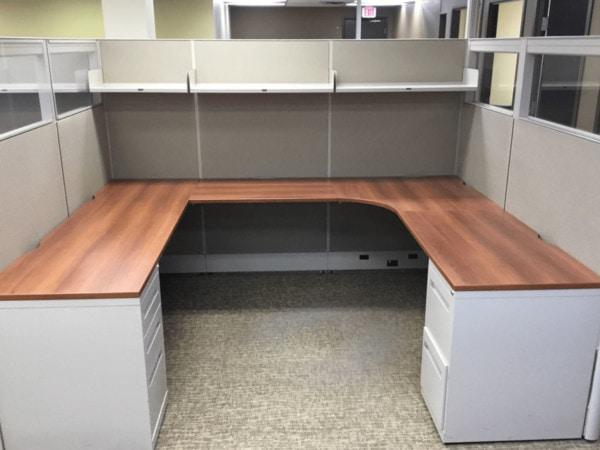 global boulevard u shaped desk