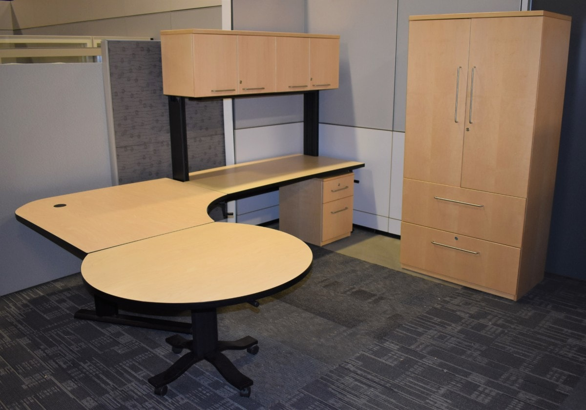 Gunnar 7X9 Height Adjustable Private Office